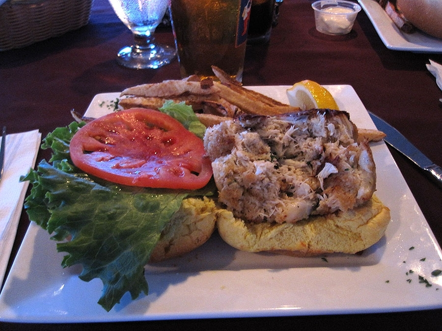 Tidewater Grille Crab Cake Sandwich