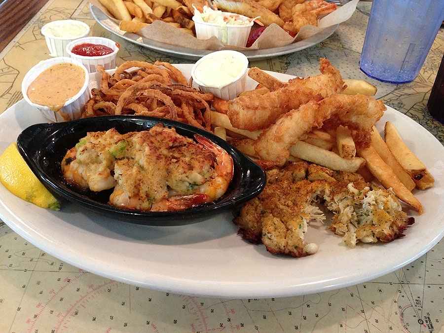 Joe's Crab Shack's East Coast Platter