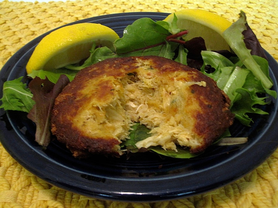 Bloom Crab Cake