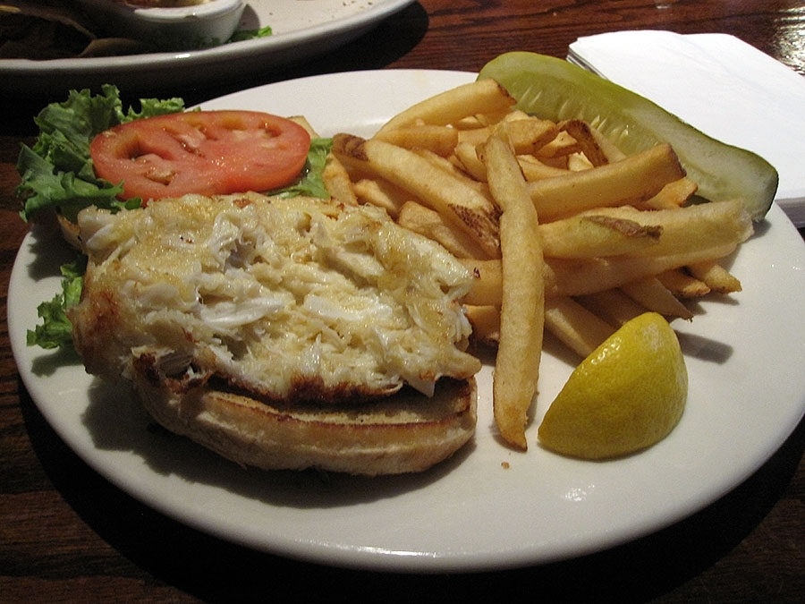 Acme Bar & Grill Crab Cake Sandwich