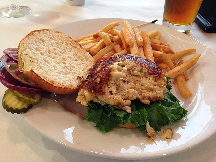 The Front Page Crab Cake Sandwich