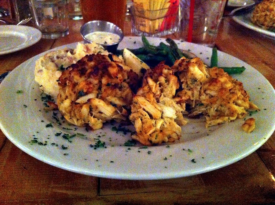 Boatyard Grill Annapolis' Favorite Crab Cake