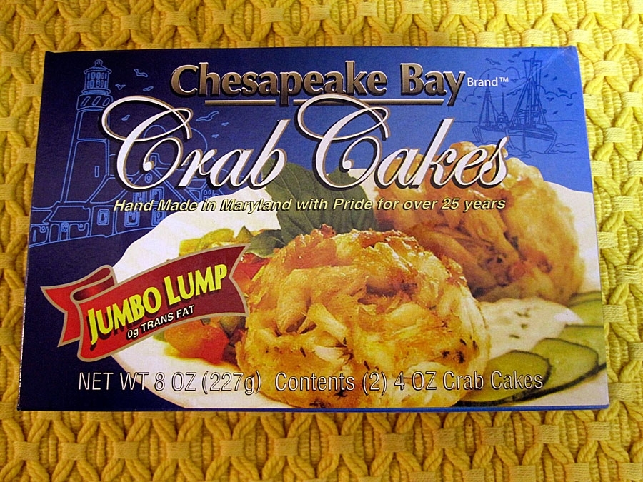 Chesapeake Bay Brand Jump Lump Crab Cakes